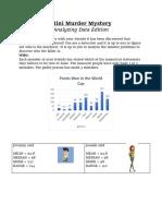 mini murder mystery- data edition