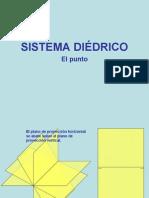 SISTEMA DIEDRICO PUNTOS