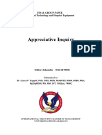 The Appreciative Inquiry