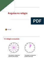 1 ANO - Ângulos e o Relógio - 2007
