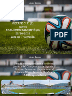 Jesús Sarcos - Getafe vs Real Betis