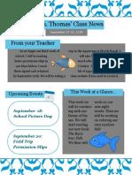 classroom newsletter  1