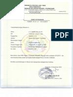Surat Keterangan Alumni an. Verren Angelina, Dkk