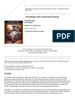 Volcanology and Geothermal Energy - Kenneth Wohletz