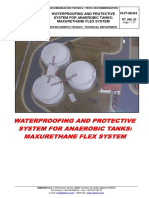 Method of Waterproofing With MAXURETHANE FLEX W