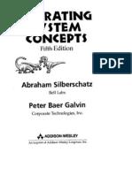 Silberschatz - Operating System Concepts