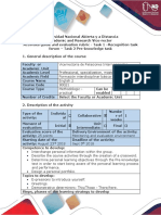 Activities guide and evaluation rubric - Task 1 - Recognition task forum - Task 2 - Pre-knowledge task.pdf