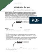 chem 101 Lab 12 Gas Laws