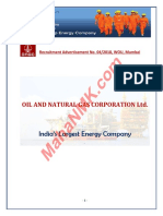 ONGC Mumbai 442 Recruitment 2018 (Www.mahaNMK.com)