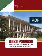 Buku Panduan Akademik S2 MIH 2018 2019 Update02