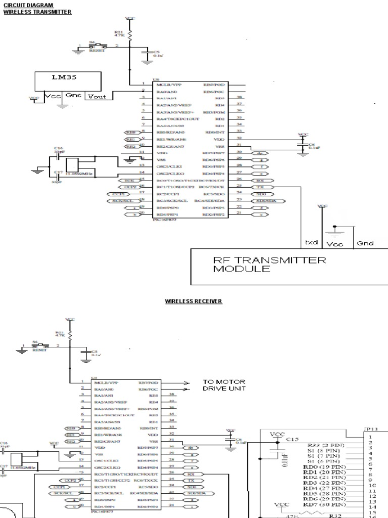 Agribot Project Presentation Rf Transmitter Circuit Diagram
