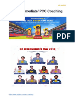 CA Intermediate%2FIPCC Coaching