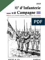 Le201e d Infanterie en Campagne