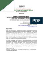 Competitividad Empresarial en San Marcos, Guatemala