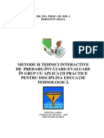 Metode Interactive de Recapitulare Si Sistematizarea Cunostintelor La Studiul Metalelorpetcu