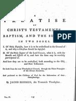Jacob Böhme Vol 4 - VI - Of Christ's Testaments