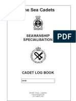 Seamanship Special is at Ion - Cadet Logbook - Oct05 com