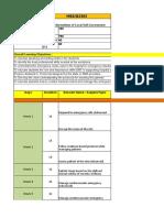 Emergency Medical Training Plan Daily Basis 1
