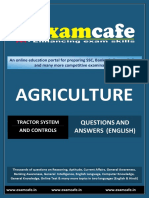 Tractor System and Controls - Practice Set 1