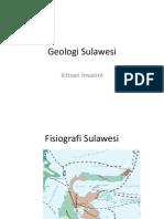 Geologi Sulawesi Pak Ikhsan