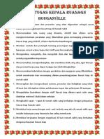 Uraian Tugas Karu Bouganville