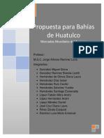 PROPUESTA PARA BAHÍAS DE HUATULCO corregido