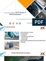 Survey Report From Bitung Port to PLTU Sulut 3- North Sulawesi