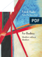 Frank Ruda for Badiou Idealism Without Idealism Theoryleaks