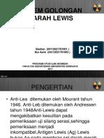 Sistem Golongan Darah Lewis