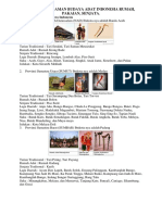 Keanekaragaman Budaya Adat Indonesia Rumah
