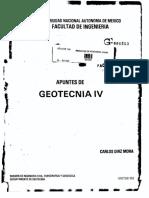 Apuntes de Geotecnia IV