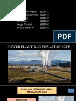 Power Plant dan Peralatan PLTP