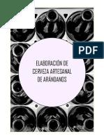 Elaboracion de Cerveza Artesanal de Arandanos