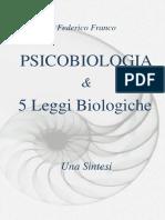 Psicobiologia & 5 Leggi Biologiche - Una Sintesi