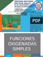 FUNCIONES-OXIGENADAS
