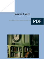 Camera Angles Indie Genre's