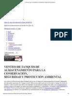 Control de Vapor, Arrestallamas y Recipientes de Seguridad _ Protectoseal