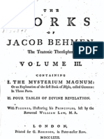 Jacob Böhme Vol 3 - I - Mysterium Magnum