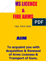 Arms License