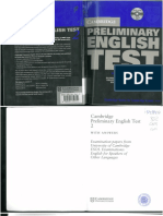 Preliminary English Test 8red