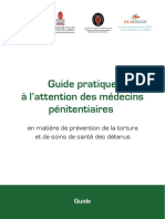 Guide Pratique à l'Attention Des Médecins Pénitentiaires