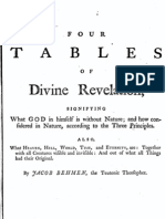 Jacob Böhme Vol 3 - II - Four Tables of Divine Revelation