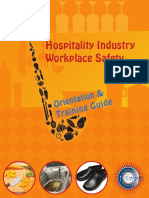 Hospitality Industry Orientation Training Guide