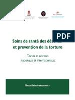 Soins des détenus et prévention de la torture