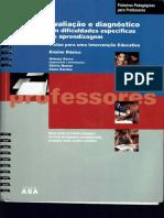 Avaliação e Diagnóstico .... Professores