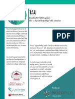 TAU Project Flyer