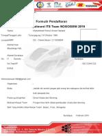 Formulir Pendaftaran 2016 FIX 2