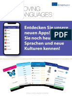 Moving Languages Project Brochure Deutch