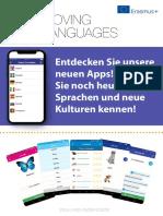 Moving Languages Project Brochure Deutch