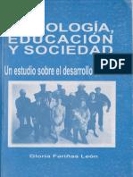 Psicología, Educación y Sociedad (2)